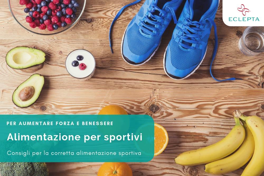 alimentazione per sportivi